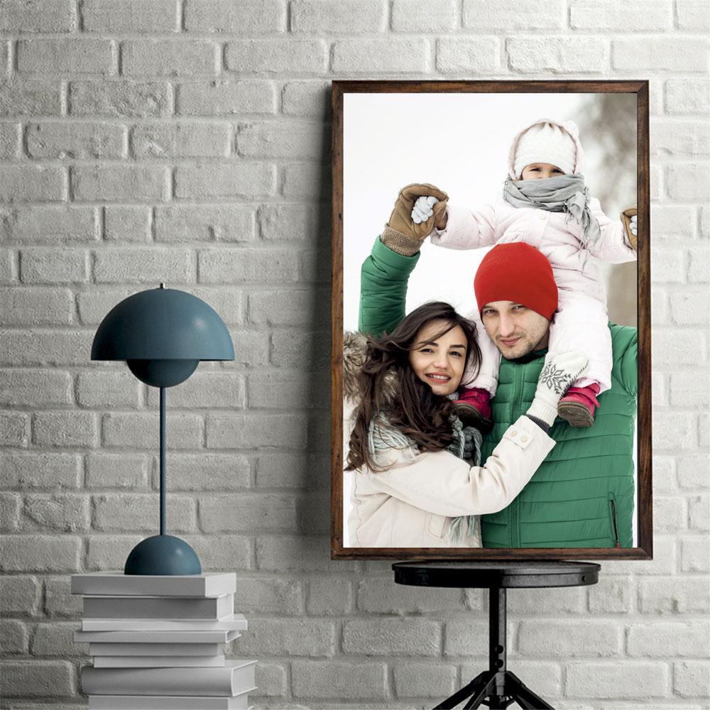 Постер с фотографии